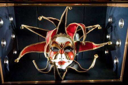 사건에 베니스 이탈리아에서 화려한 마스크