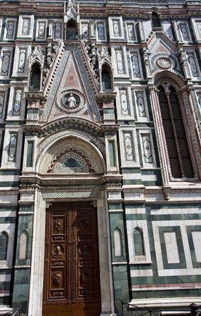 플로렌스 이탈리아의 Il Duomo의 예배당 문