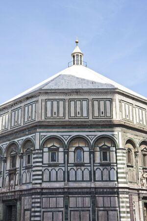 산타 마리아 델 Fiore 교회 피렌체에서 성당 스톡 콘텐츠