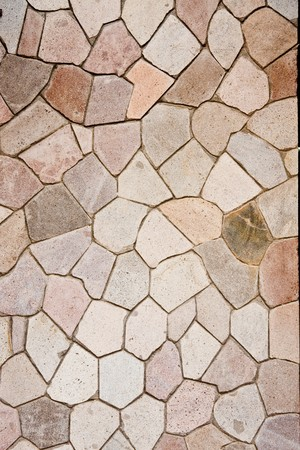 Stone pavers in many shapes for a background Stock Photo - 7577684
