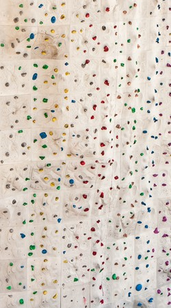 climbing sport: A rock climbing wall for background