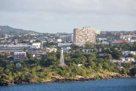 Condos de luxe sur la côte de la langue française Martinique Banque d'images - 25746228