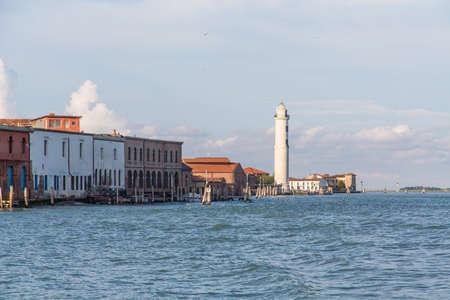 LIghthouse on the Island of Murano, near Venice