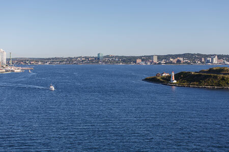 View of Halifax Nova Scotia from the Harbor photo