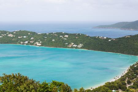 Megan's Bay Beach on St Thomas in the Caribbean