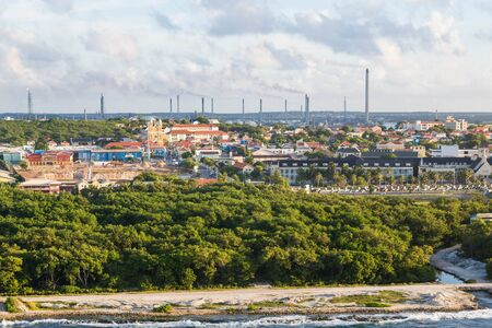 Heavy Industry on the Tropical Island of Aruba