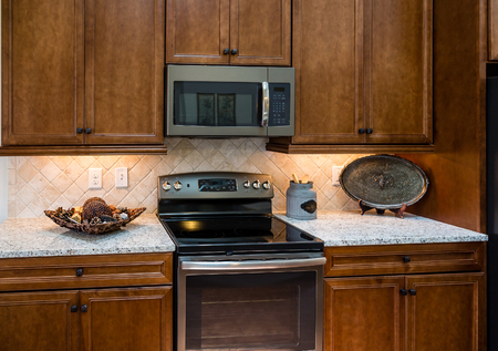 appointed: A modern, nicely appointed kitchen in a new home