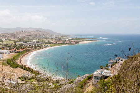 architecture bungalow: Beach Resorts on St Kitts from Hillside