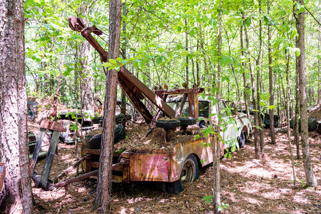 rustic: rustic truck Stock Photo