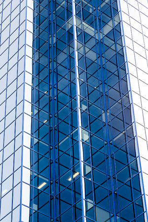 property development: Blue Angles on Glass Skyscrapers in Halifax