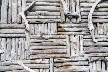 material: Wall panel of Wood and Horn