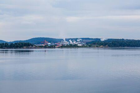 heavy industry: Heavy Industry on Coast of Canada