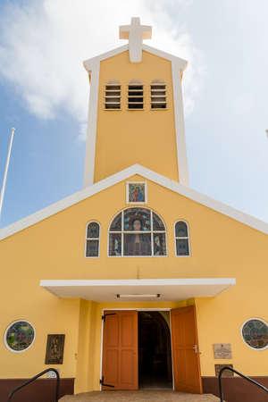 catholic chapel: A small Catholic chapel on Aruba