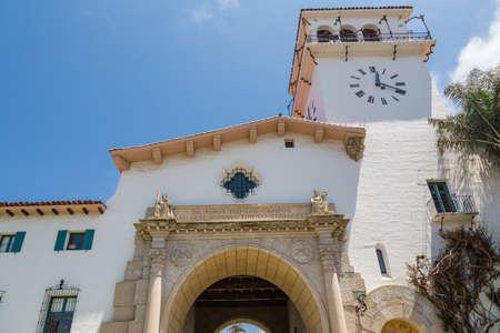 tropics: An old white stucco church in the tropics