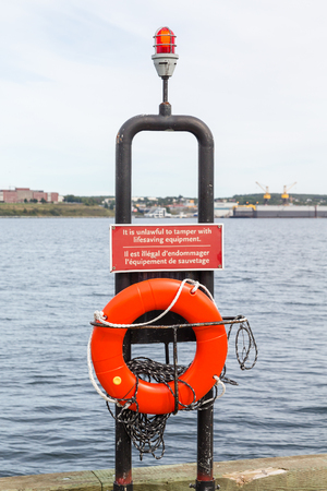 海岸の生命保存装置