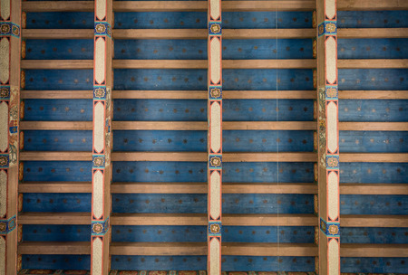 inlaid: Inlaid Roof with Custom Trim of Wood and Paint