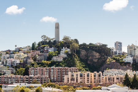 coit tower: Coit Tower on Telegraph Hill