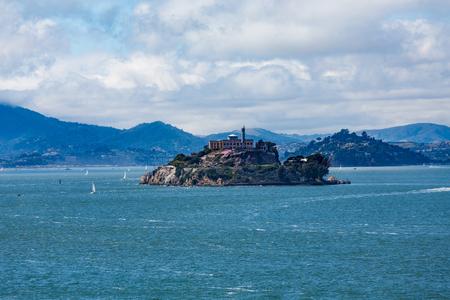alcatraz: Alcatraz Island in San Francisco Bay