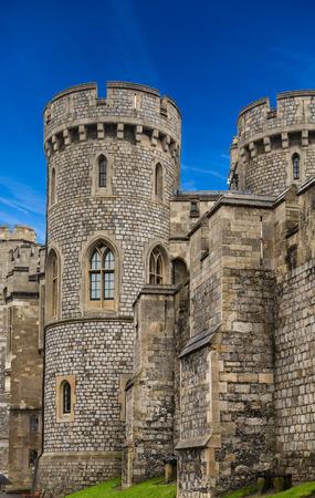 Details on Windsor Castle in Windsor, England