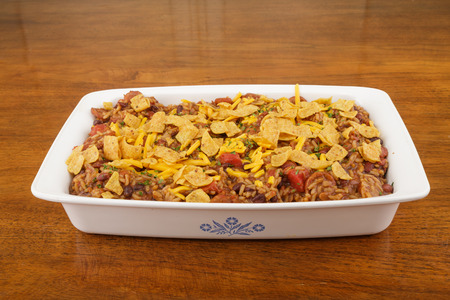 Casserole of Red Beans and Rice with Cheese and Corn Chips.jpg