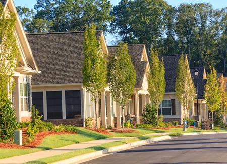 新しいタウンハウスのニース開発