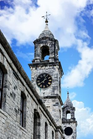 royals: Old Naval Dockyard Clock Towers in Bermuda