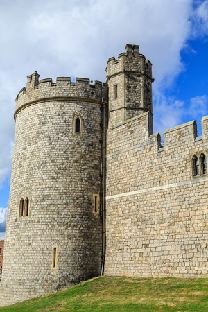 Crenellated Tower in Windsor Castle