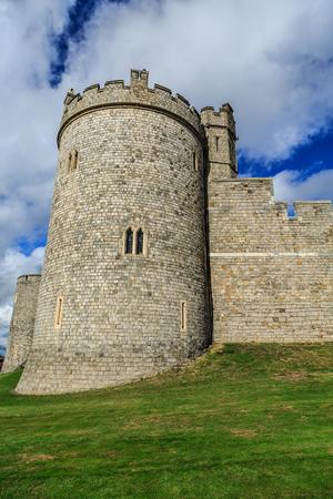 Crenellated Battlement in Windsor Castle