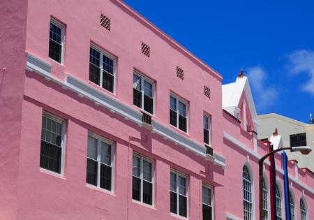 Pink Plaster in Bermuda