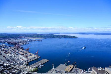 puget: Shipping Terminal in Puget Sound
