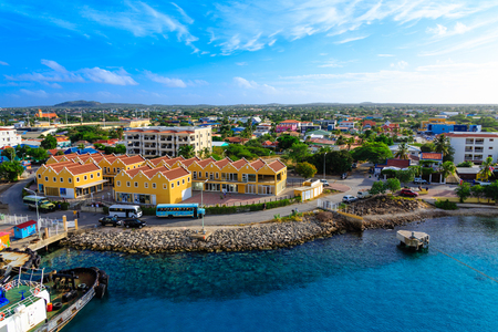 Port of Bonaire Stock Photo