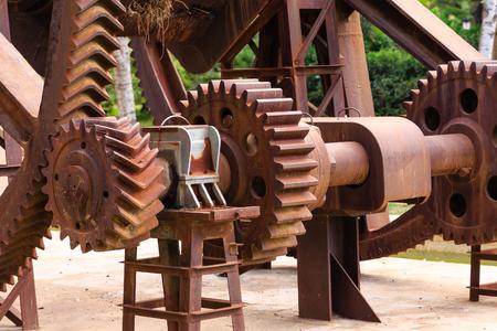 Rusty Gears Horizontal Imagens