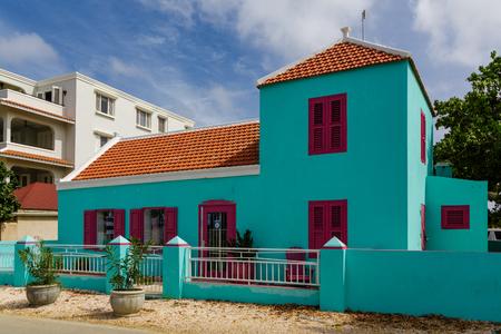 Turquoise Building in Bonaire