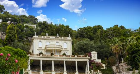 Villa on Tuscany Hillside Banco de Imagens