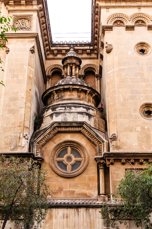 Ornate Details in Old Spanish Church
