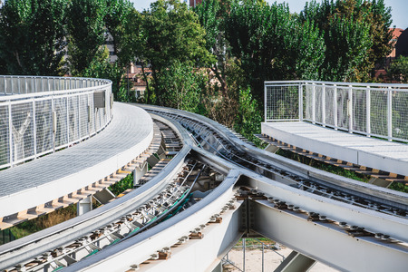 Fork in Monorail Tracks