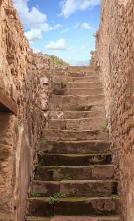 Steps in Pompeii