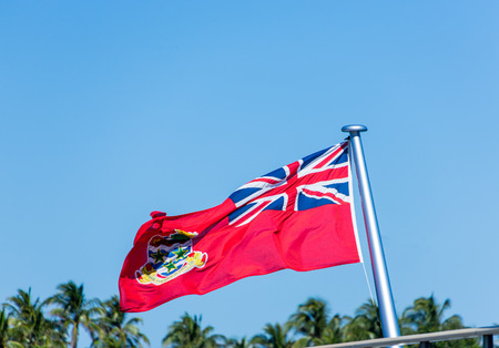 Cayman Islands Flag Stock Photo - 100774128