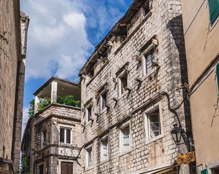 Old Stone Buildings in Kotor