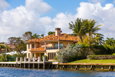 Large House in Fort Lauderdale Banque d'images