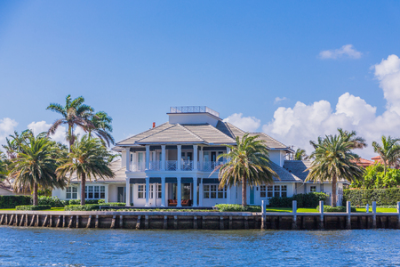 Large House in Fort Lauderdale Фото со стока