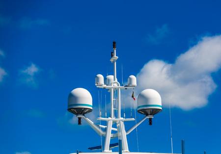 Satellite Equipment on Yacht