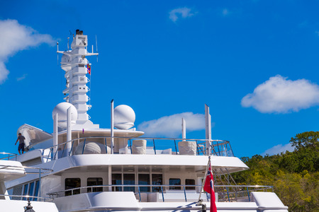 Satellite Equipment on Yacht