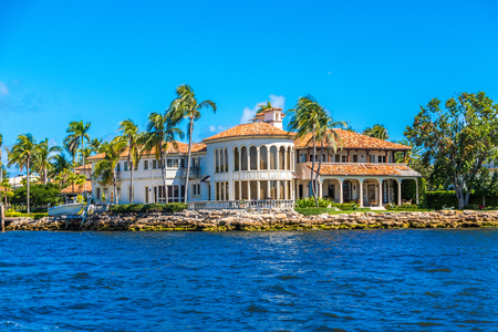 Large House in Fort Lauderdale 免版税图像