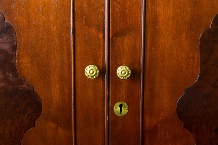 Brass Knobs on Antique Furniture