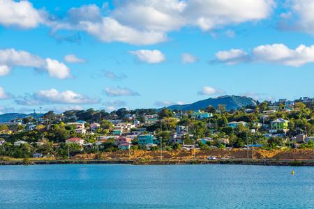 Coast of Antigua Stock Photo - 104567209
