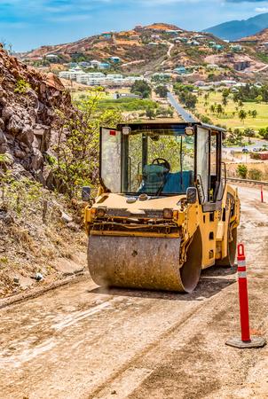 Pavimentación de nuevas carreteras en los trópicos