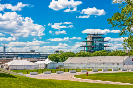 Tower at The Indianapolis Motor Speedway