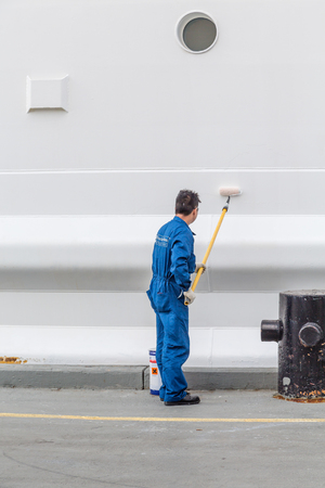 Painting White Ship Hull
