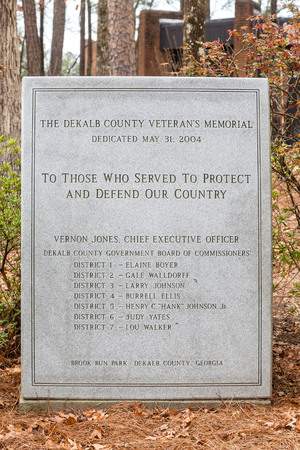Dekalb County Veterans Memorial 新聞圖片